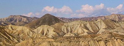 Almería, desierto de Tabernas