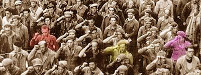 Despedida de las Brigadas Internacionales, Barcelona 1938