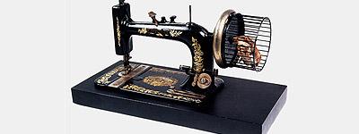 Carelman: Máquina de coser a tracción de roedor