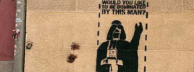 Graffiti en la pared