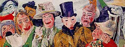 James Ensor: Intrigue, 1890