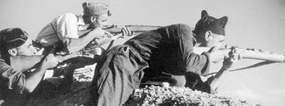 Buenos y malos en la guerra civil española
