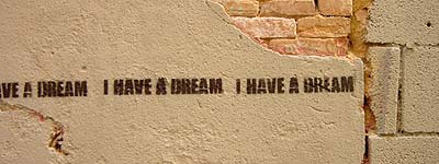 graffiti i have a dream