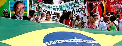 Partidarios de Lula