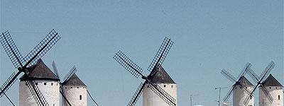 Viejos molinos de viento