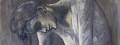 Picasso: La planchadora, 1904