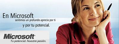 Publicidad de Microsoft